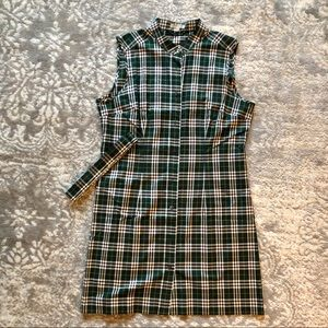 Burberry Sleeveless Short Dress